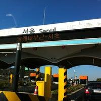 Photo taken at Seoul Toll Gate by JK on 10/23/2012