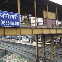 Photo taken at Jogeshwari Railway Station by JK on 11/11/2015