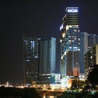 Photo taken at MGM Macau by JK on 5/6/2013