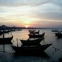 Photo taken at Pantai Boom Tuban by rima A. on 8/15/2013