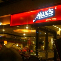 Photo taken at Max's Restaurant by Lance M. on 11/24/2012