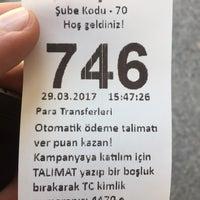 Photo taken at Yapı Kredi Bankası by 🇹🇷🇹🇷 Ediz T. on 3/29/2017