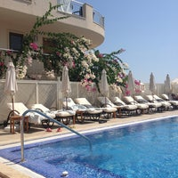 Photo taken at Dream Hotel by Emine T. on 8/2/2013