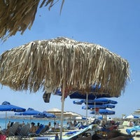 Photo taken at Agios Prokopios Beach by Sof F. on 7/11/2013