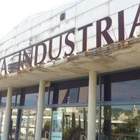 Photo taken at Centre Esportiu Municipal Espanya Industrial by Lidia A. on 10/14/2012