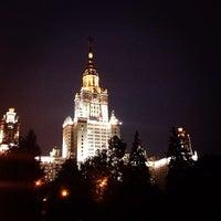 Photo taken at Lomonosov Moscow State University (MSU) by Claire K. on 9/13/2013