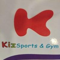 Photo taken at Kizsports & Gym by Eznie C. on 2/21/2013