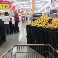 Photo taken at Carrefour by Baskoro N. on 8/30/2014