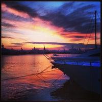 Photo taken at Flisvos Marina by Konstantinos M. on 3/18/2013
