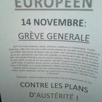 Photo taken at Campus de l'UCL by Pierre p. on 11/14/2012