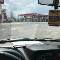 Photo taken at özkan petrol by Salih Ö. on 3/30/2017