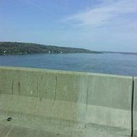 Photo taken at Fred Schwengel Memorial Bridge by Joe S. on 4/29/2013