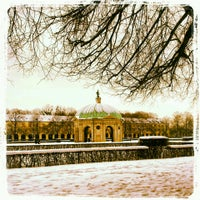 Photo taken at Hofgarten by Carina on 2/24/2013