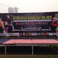Photo taken at Padang KGV by mohamad s. on 9/13/2015