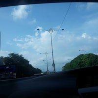 Photo taken at traffic light ke desaru by Joe R T. on 8/30/2013