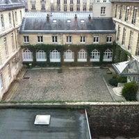 Photo taken at École des Mines by Emilie Q. on 1/14/2013