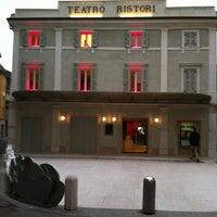 Photo taken at Teatro Ristori by Monica L. on 4/7/2013