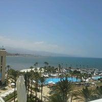 Photo taken at Mövenpick Hotel Beirut by Miron H. on 7/1/2013