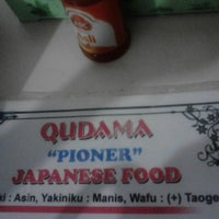 Photo taken at Qudama Japanese Food by Rucy Arum W. on 9/24/2012