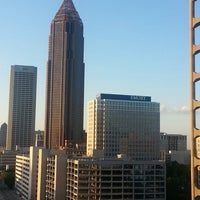 Photo taken at Hyatt Place Atlanta/Downtown by Sylvia B. on 5/29/2013