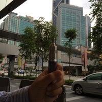 Photo taken at Intermark Pedestrian Bridge by Farid A. on 7/31/2014