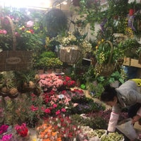 Photo taken at 曹家渡花市 Caojiadu Flower Market by Mahalia K. on 12/31/2016