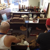 Photo taken at G.R. Tabacaleras Co. Cigar Store and Lounge by Gran Habano C. on 11/19/2012
