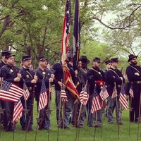 Photo taken at Lakewood Cemetery by Kristofer L. on 5/27/2013