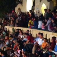 Photo taken at El Genaina Theatre by Yasmina H. on 10/11/2012