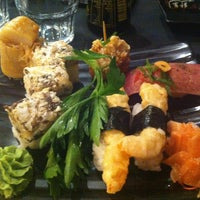 Photo taken at Mori Sushi by Yasmina H. on 4/30/2013