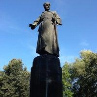 Photo taken at Памятник М. В. Фрунзе by Gatita on 8/28/2013