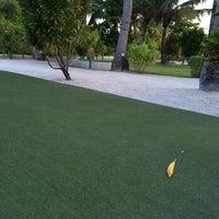 Photo taken at Kuredu Golf Club by nuhyy r. on 7/28/2014