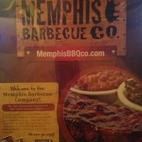 Photo taken at Memphis BBQ Co. by Thomas on 7/15/2013