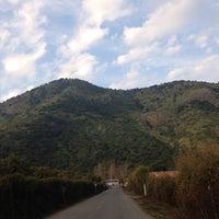 Photo taken at Puente Peumo by Alejandra I. on 8/1/2013