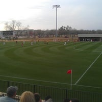 Photo taken at John Crain Field at the OU Soccer Complex by Matt W. on 3/29/2013