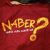 Photo taken at Galatasaray Store by Fatih K. on 5/25/2013