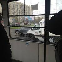 Photo taken at Трамвай №100 by Андрей Ж. on 10/10/2012