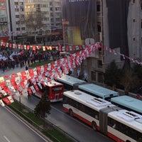 Photo taken at Şair Eşref Bulvarı by Cansu M. on 2/27/2014
