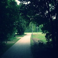 Photo taken at Люблинский пруд by Анастасия on 6/18/2013