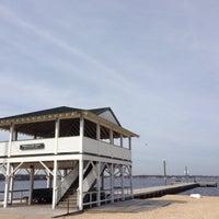Photo taken at Ocean Gate Boardwalk by Elle R. on 4/19/2014