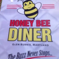 Photo taken at Honey Bee Diner by AC S. on 11/23/2012