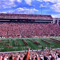 Photo taken at Darrell K Royal-Texas Memorial Stadium by Austin P. on 11/10/2012