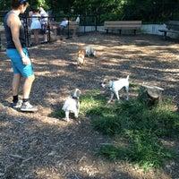Photo taken at Cunningham Park Dog Run by Sandra B. on 8/25/2013