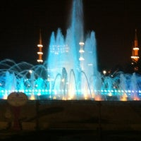 Photo taken at Sultanahmet Square by Cemre U. on 7/14/2013