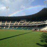 Photo taken at Les Murakami Stadium by Maricel M. on 11/12/2012