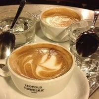 Photo taken at Café Hawelka by Megan B. on 12/8/2012