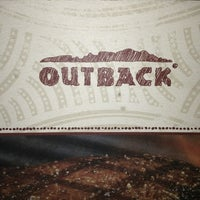 Photo taken at Outback Steakhouse by Reggie J. on 2/3/2013