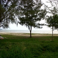 Photo taken at Pantai Cahaya Negeri (Beach) by NurhabibahNajwa on 10/5/2012