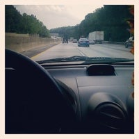 Photo taken at I-285 by Kelly T. on 8/9/2014