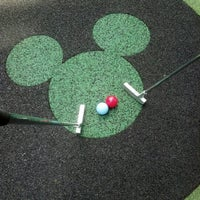 Photo taken at Fantasia Gardens Miniature Golf by Jamie C. on 10/16/2012
